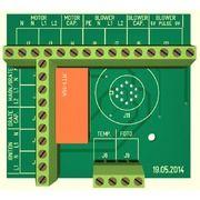 Motorprint 12 pin NTC, flad foto sensor